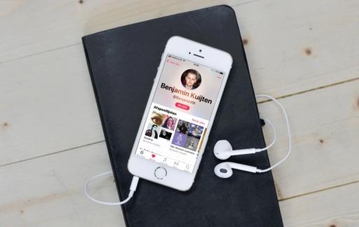 Apple Music vrienden en profiel.