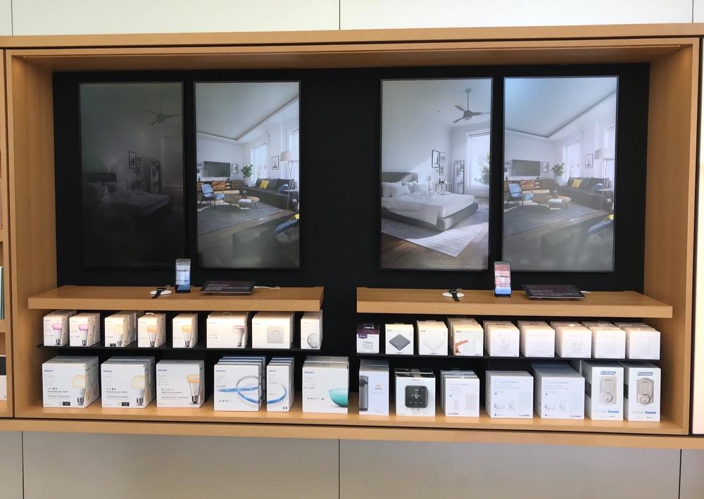 HomeKit-demo in de Apple Store.