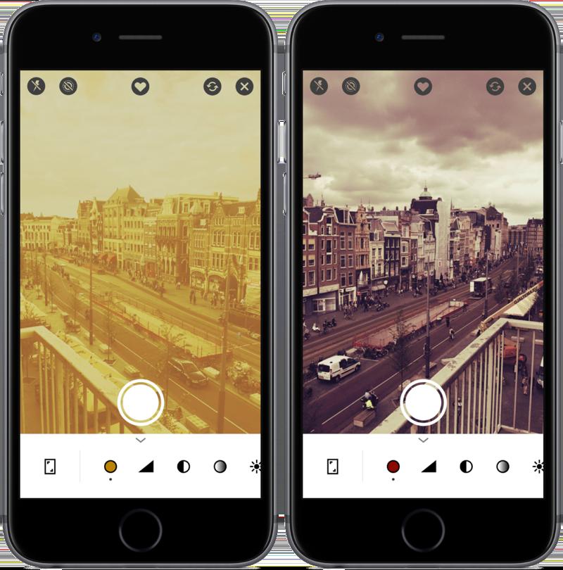 Foto-app infltr.