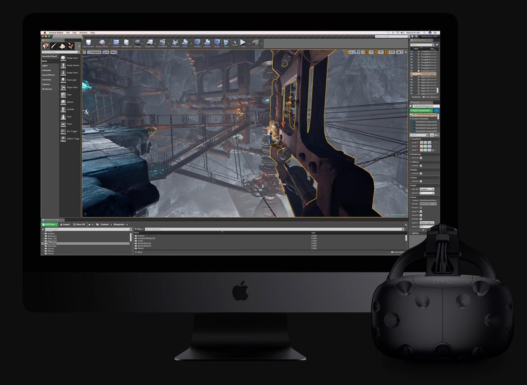 iMac Pro met HTC Vive