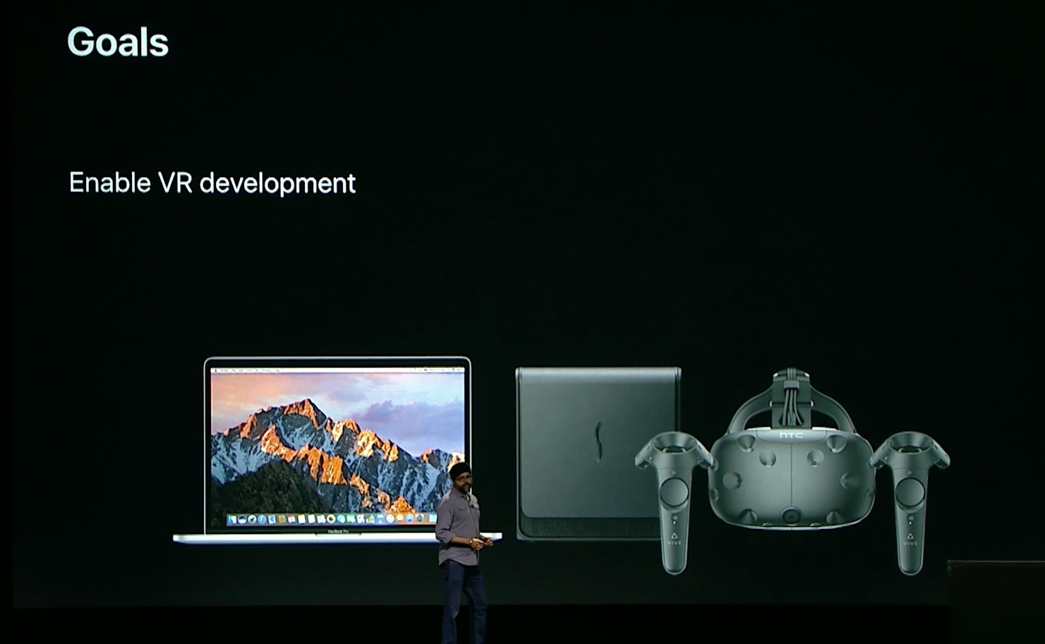 virtual reality macOS