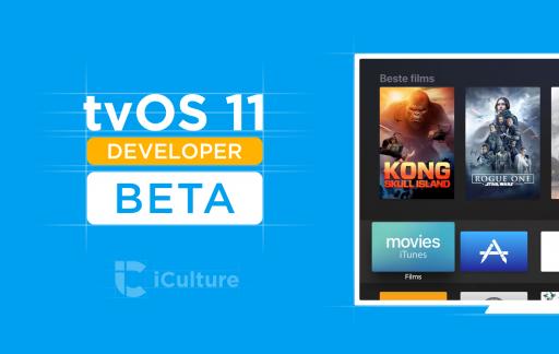 tvOS 11 beta voor ontwikkelaars