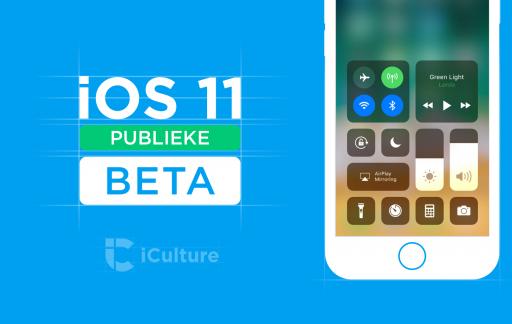 iOS 11 Publieke beta