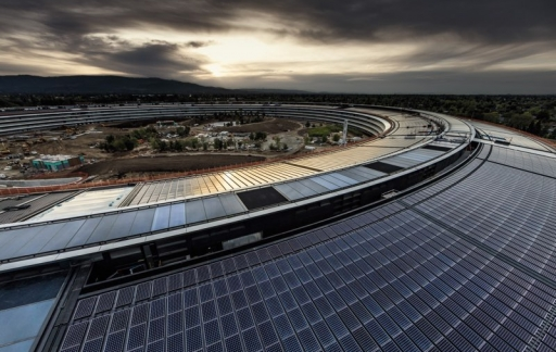 Apple Park dronevideo