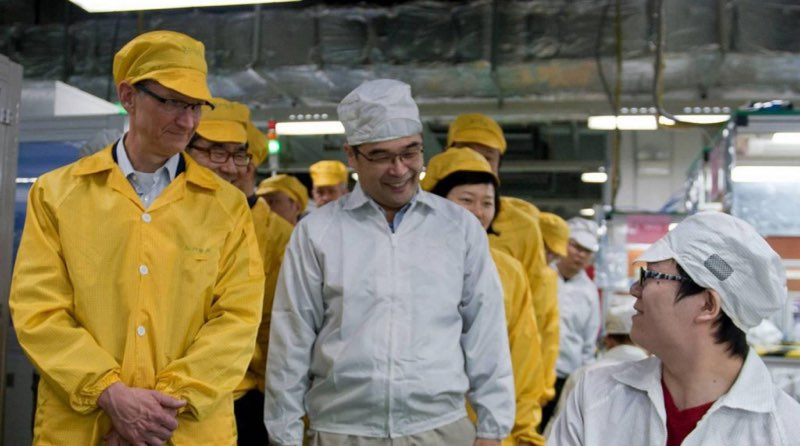 Tim Cook China, Foxconn