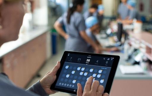 iPad ziekenhuis