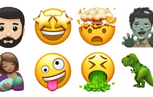 Emoji van 2017 door Apple.