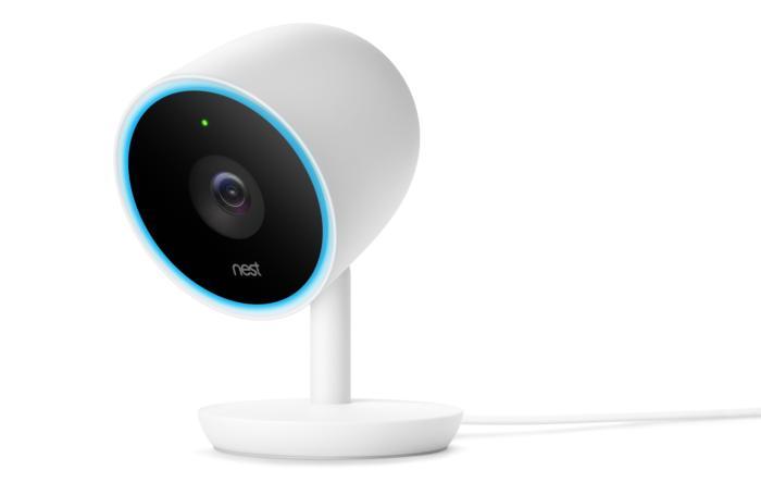 Nest Cam IQ blauwe cirkel