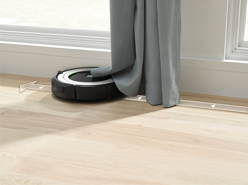 Roomba 691 gordijn