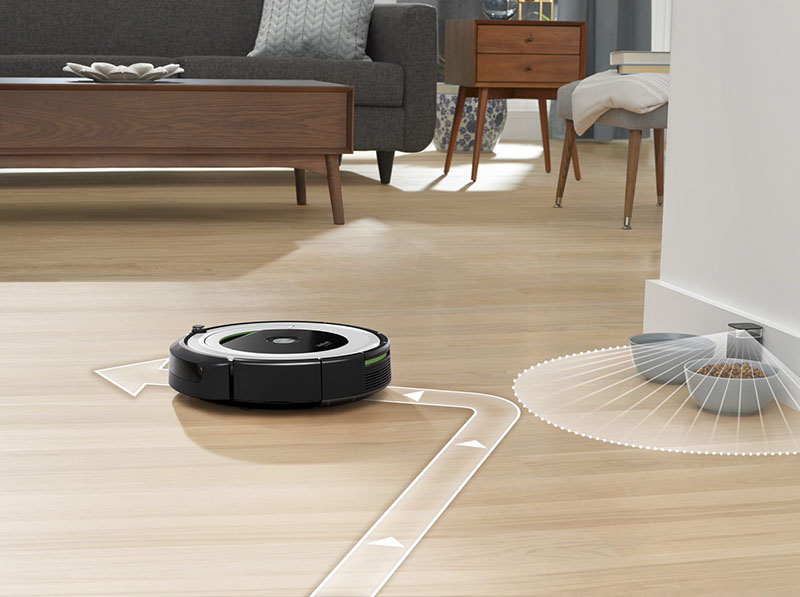 review irobot roomba 690 serie met iphone appbediening. Black Bedroom Furniture Sets. Home Design Ideas