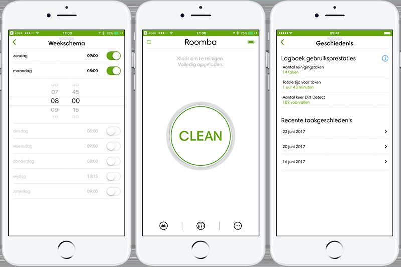 iRobot app