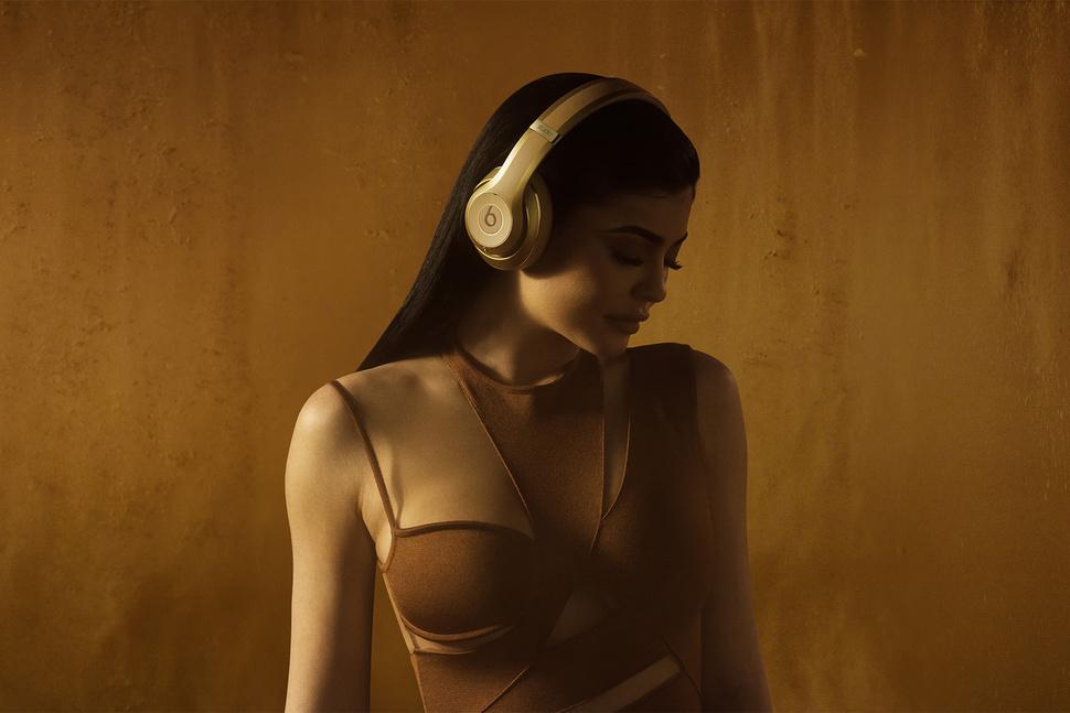 Beats Balmain hoofdtelefoon met Kylie Jenner