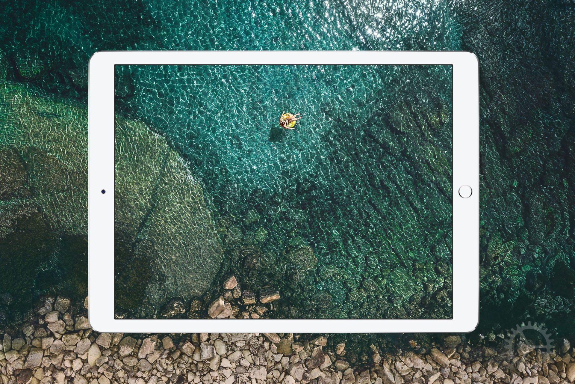 Achtergrond iPad Pro iOS 10.3.3.