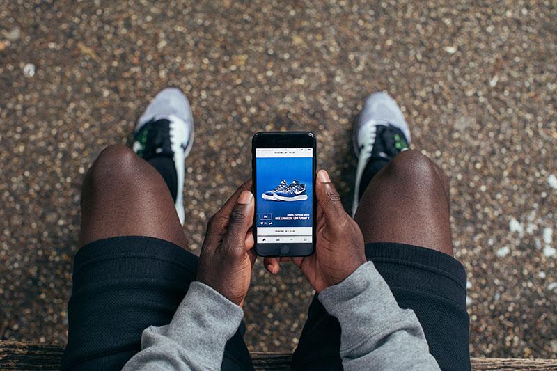 Nike App voor iPhone