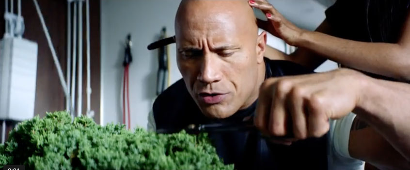 Apple Siri film met Dwayne The Rock Johnson