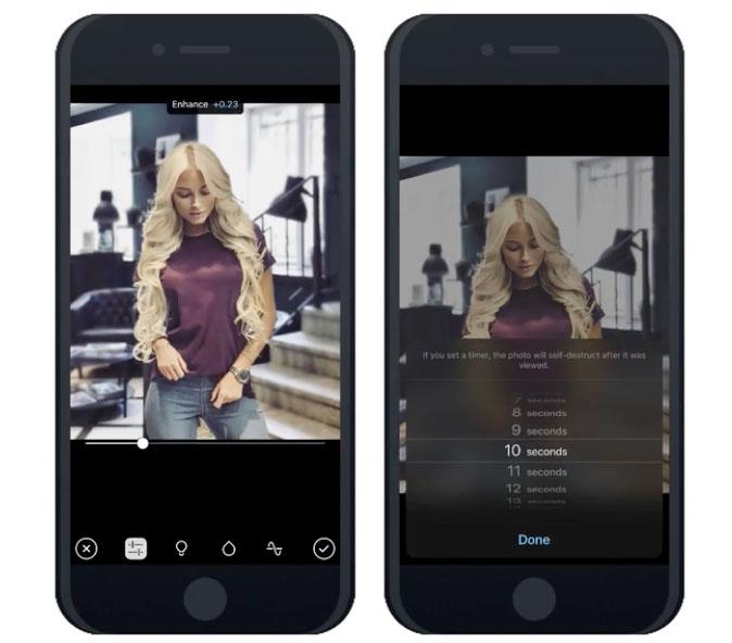 Telegram: foto's verdwijnen binnen 1 minuut