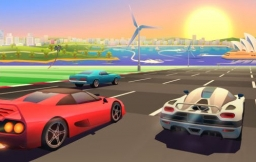 Horizon Chase-game voor iPhone