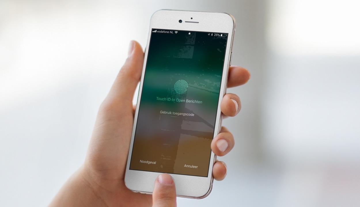 Touch ID op toegangsscherm in iOS 11.