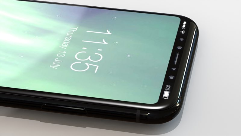 iPhone 8 concept powerknop