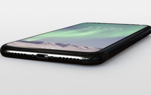 iPhone 8 concept onderkant