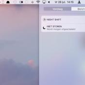 Niet Storen op de Mac gebruiken (ook supersnel)