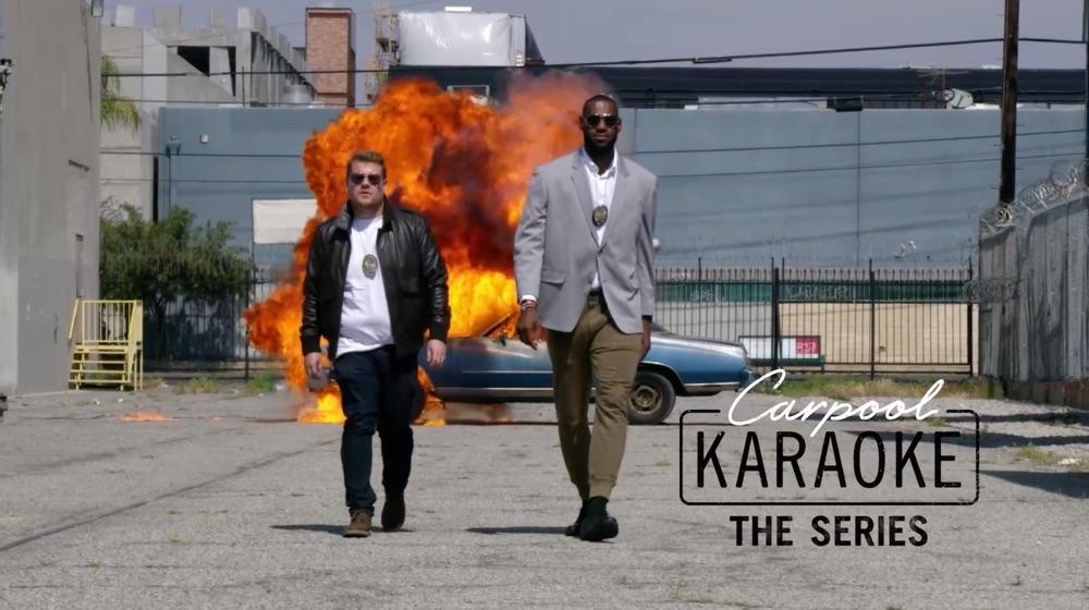 Carpool Karaoke: The Series.