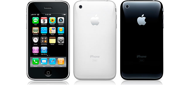iPhone 3GS zwart en wit