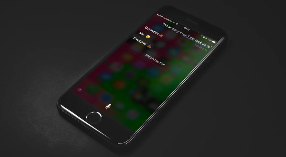Siri en The Rock gaan op pad.