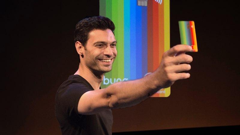Bunq CEO Ali Niknam