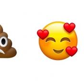 Droevige drol, brandblusser en feestende emoji kandidaten voor 2018