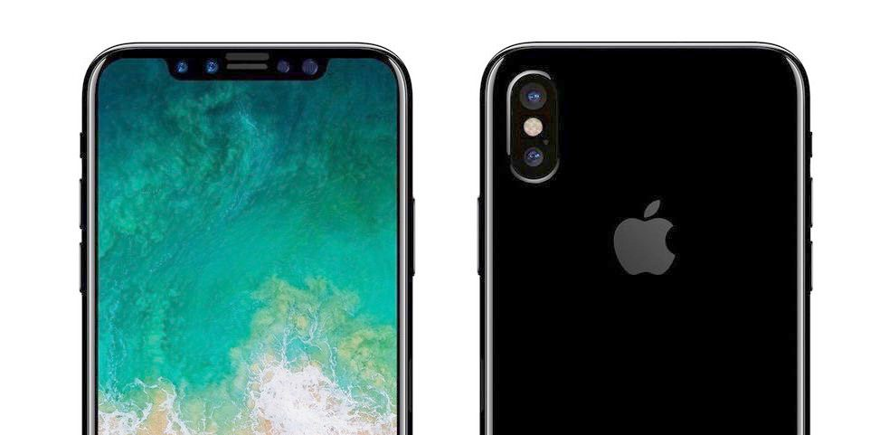 iPhone 8 met 3D sensor