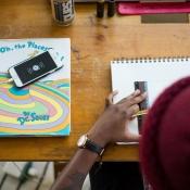 Student met iPhone