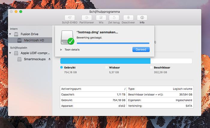 Wachtwoord voor mappen op de Mac