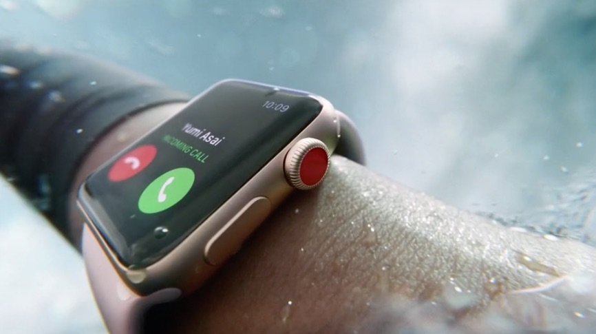 Apple Watch waterslot