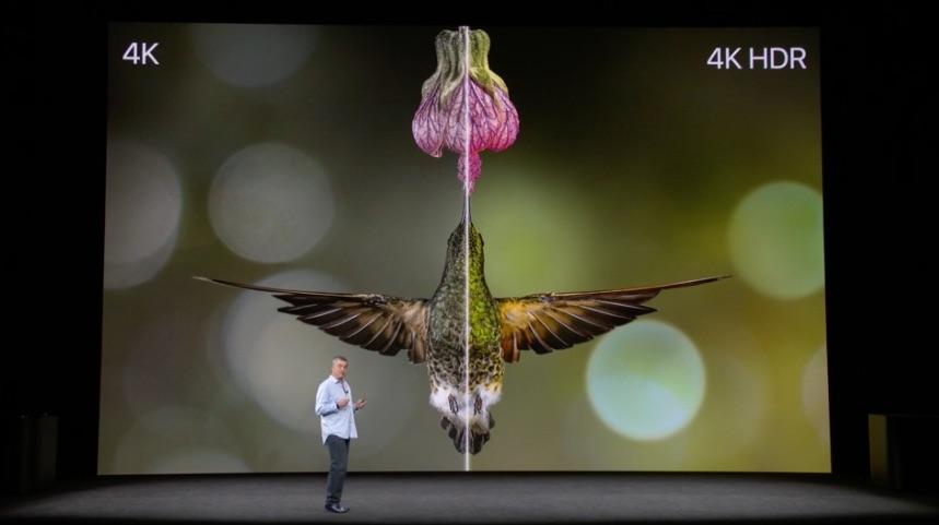 Apple TV 4K HDR vogel.