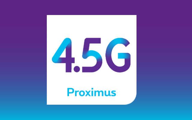 Proximus 4,5G netwerk