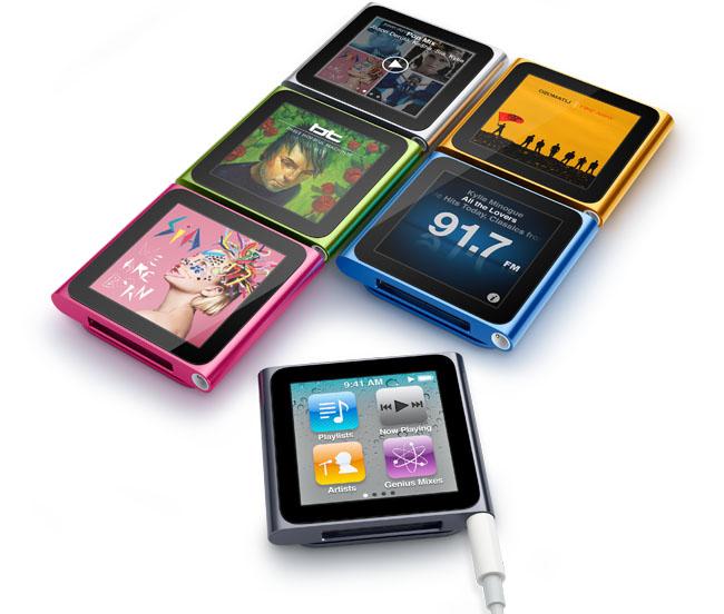 iPod nano 6e generatie