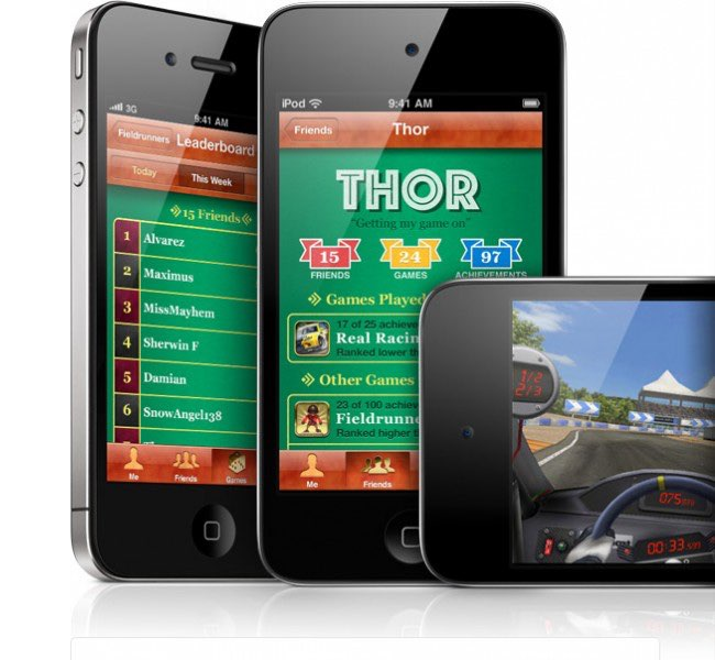Game Center iOS 4
