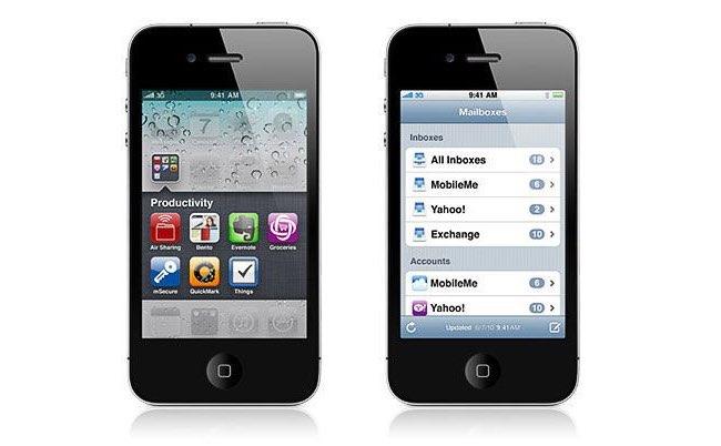 iOS 4 mappen