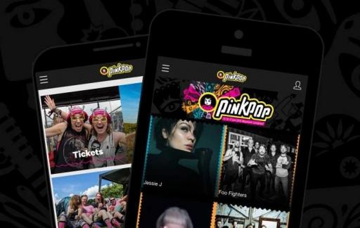 Pinkpop 2018 app