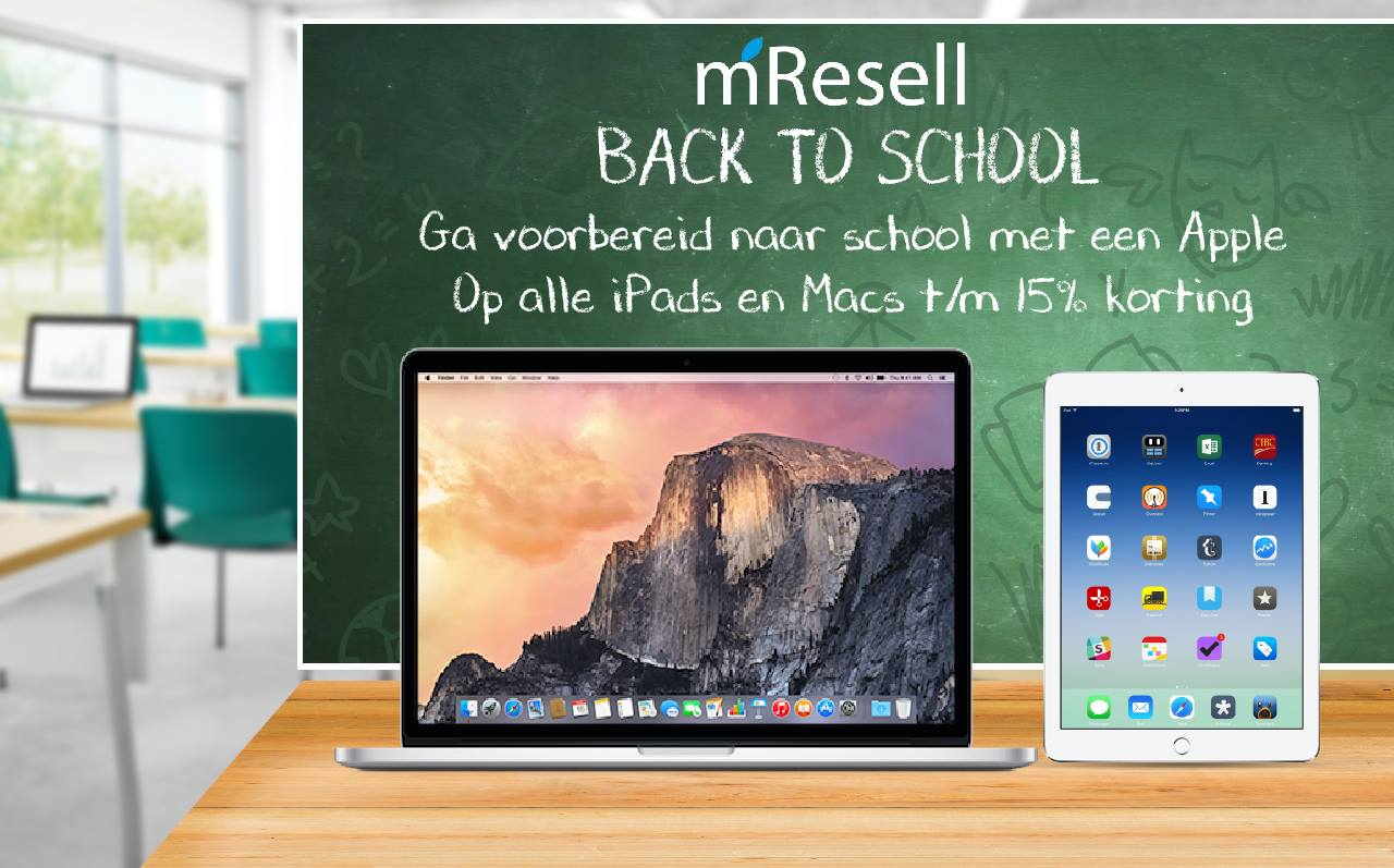 mResell: back to school