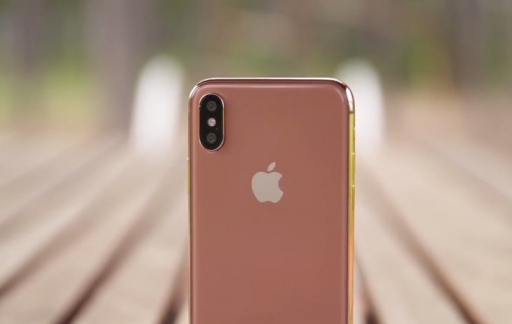 iPhone 8 in Copper Gold