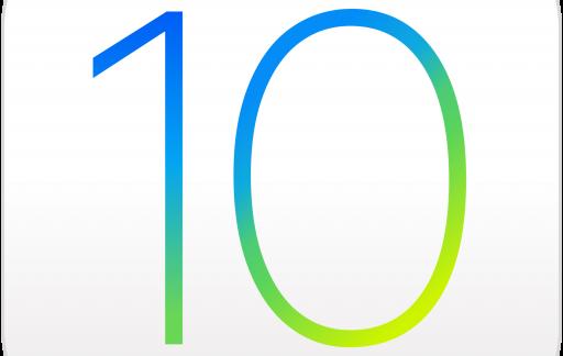 iOS10 logo