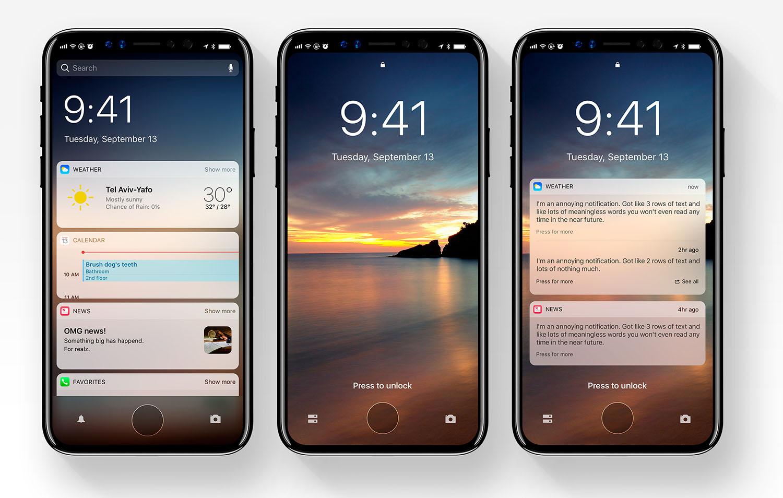 iOS 12 design