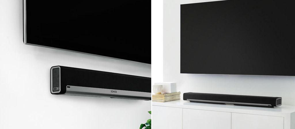 Sonos Playbar plaatsing