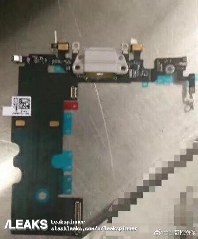 iPhone 8 onderdelen lek