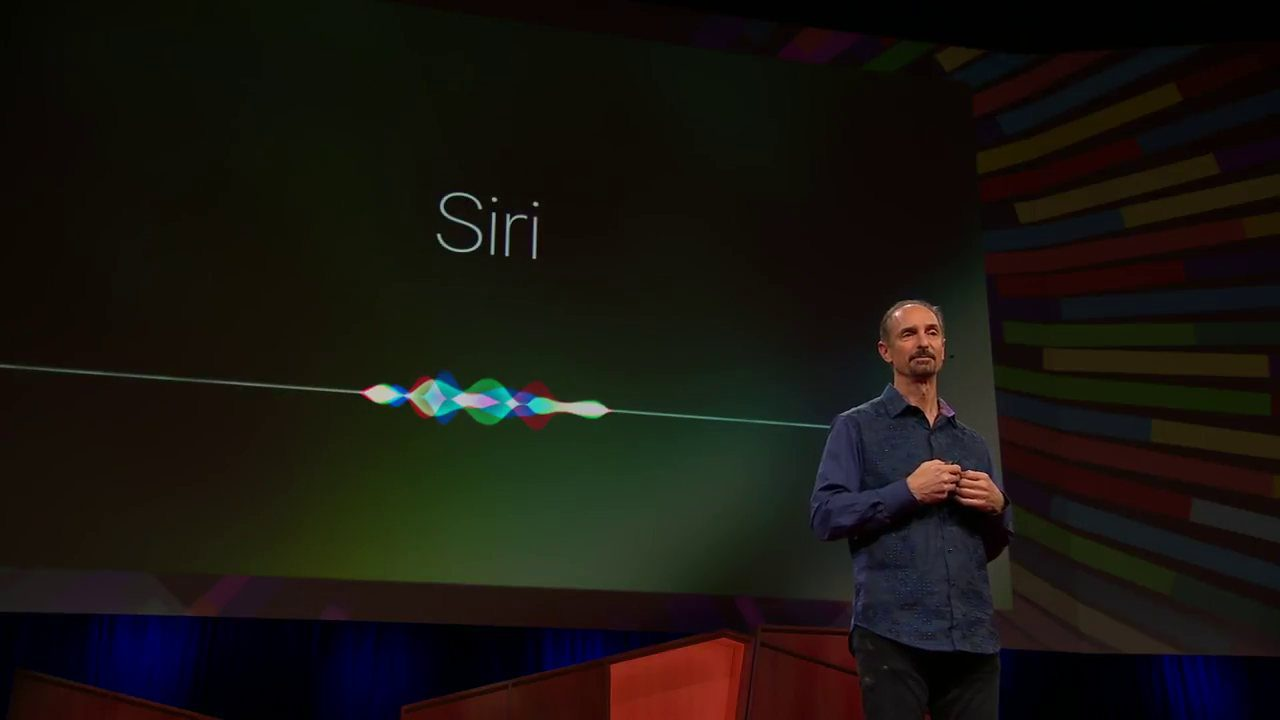 Tom Gruber TED Talk over Siri