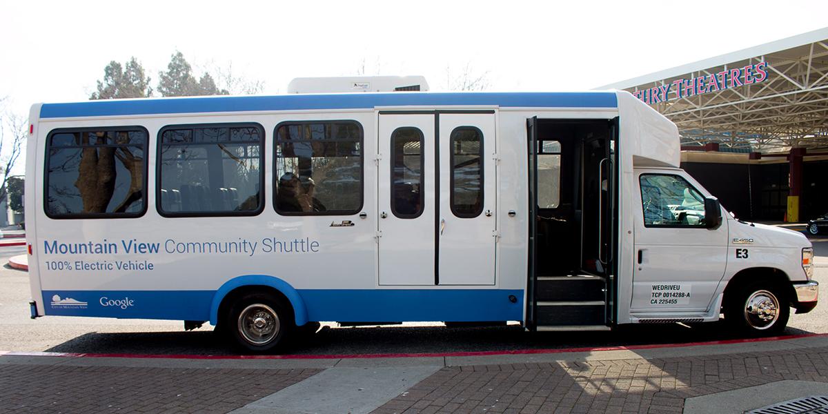 Shuttle-dienst van Google