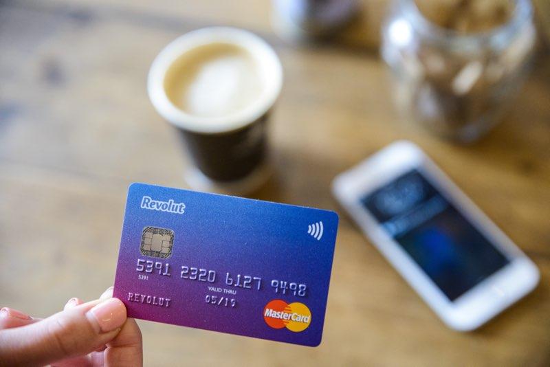 Revolut bankkaart