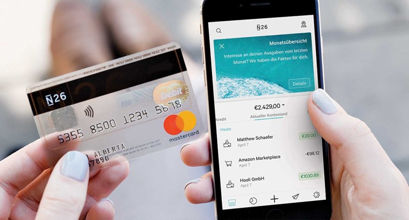 N26 bankieren-app